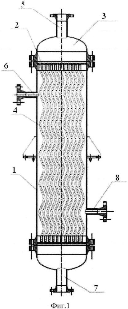 Кожухотрубчатый теплообменный аппарат