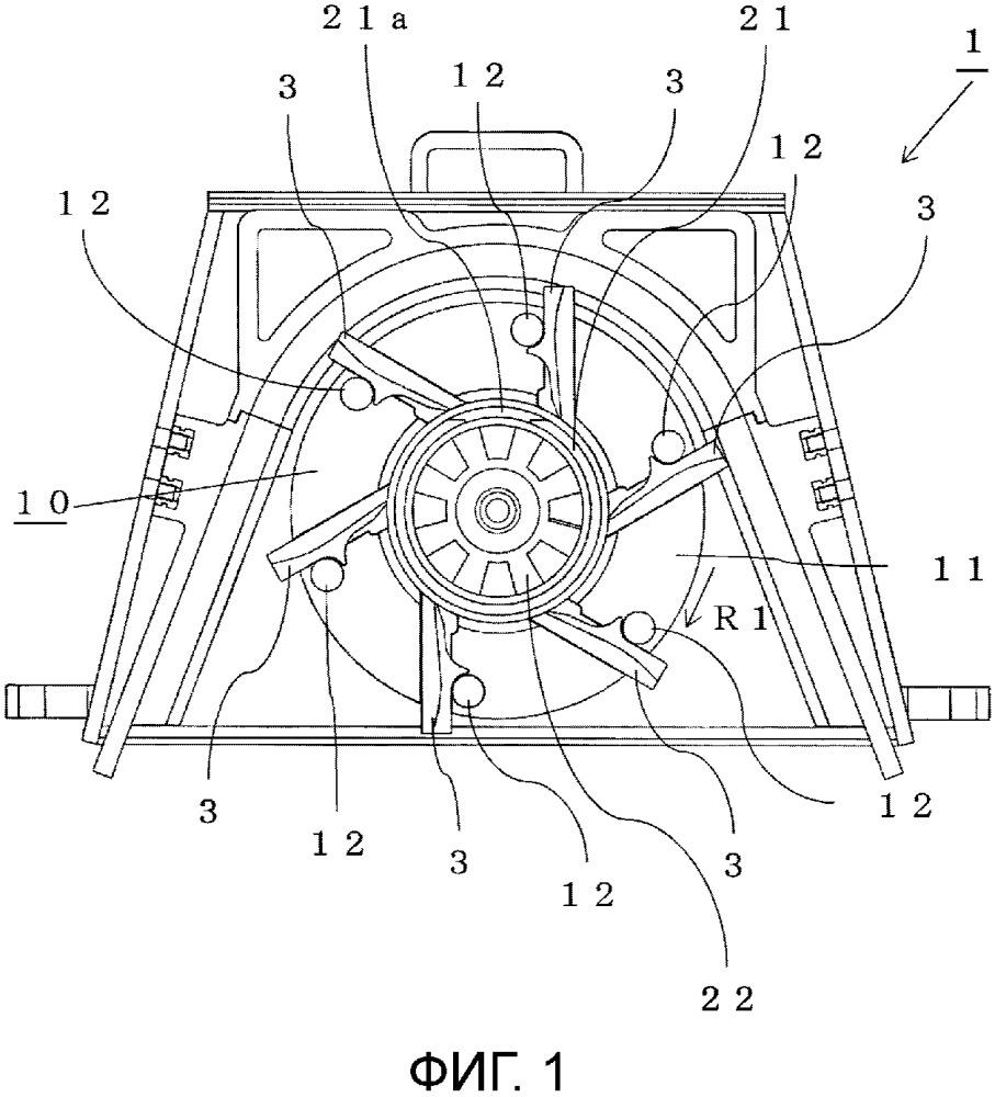 Центробежный дробеметный аппарат и лопатка