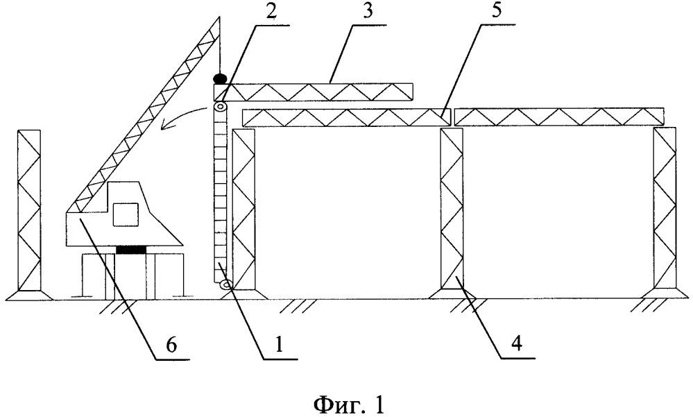 Способ установки пролётных строений металлической эстакады рэм-500 надвижкой