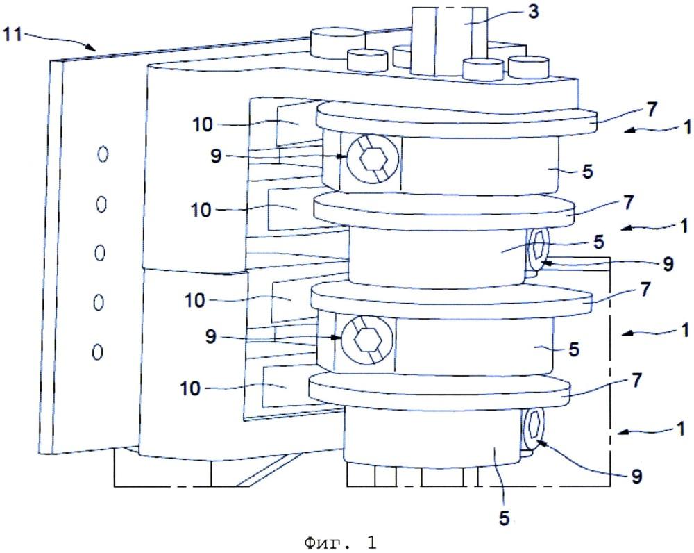 Система управления замком, содержащая по меньшей мере один подвижный модуль замка для управления приводным устройством