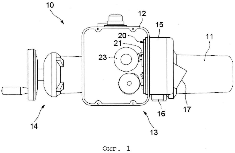 Серводвигатель для промышленного клапана или створки с соединительной платой и соединителем