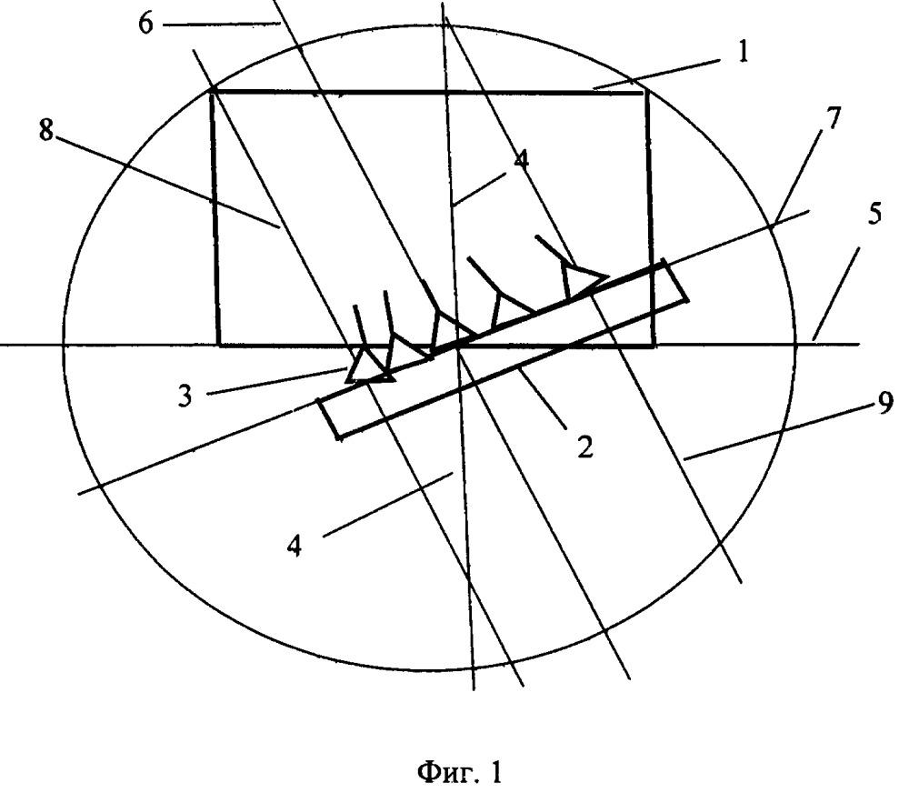 Ненаклонная многолучевая двухзеркальная антенна вынесенного излучения