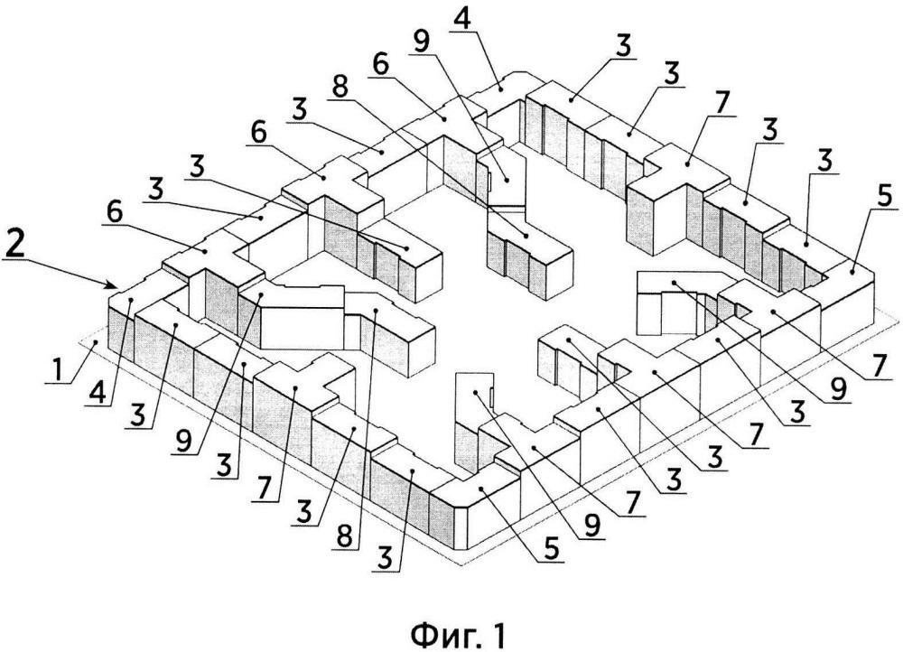 Способ квартальной трансформенной застройки пространственно соединенными панельными, каркасными и панельно-каркасными зданиями
