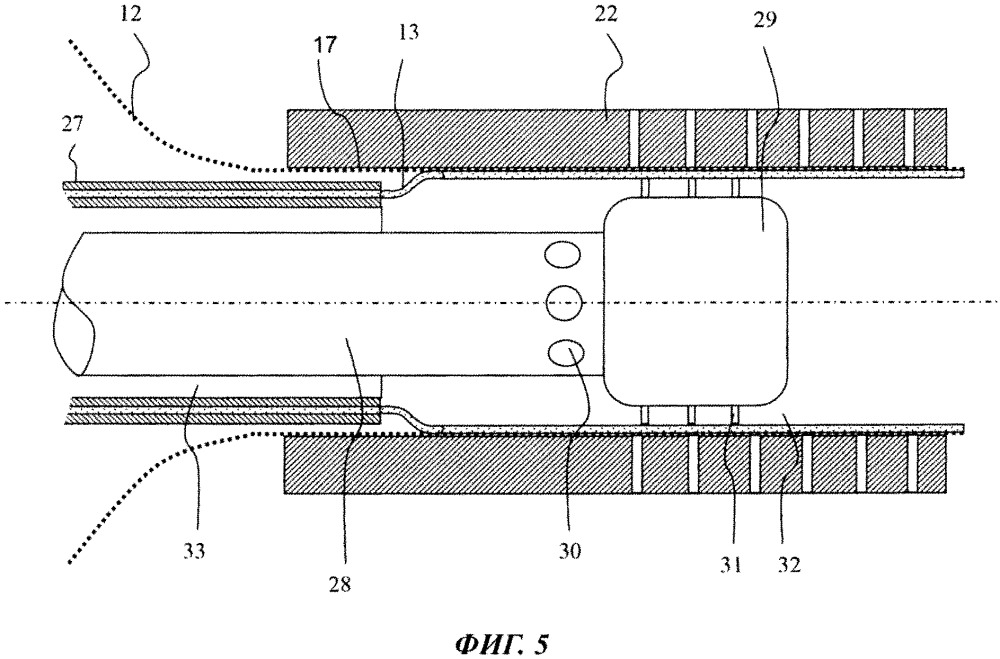 Способ и устройство для экструдирования и этикетирования упаковочной тубы