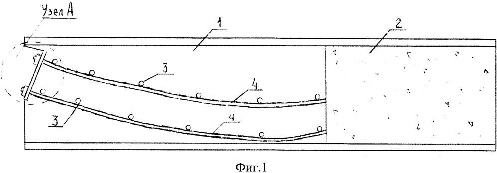 Преднапряженная сталебетонная балка