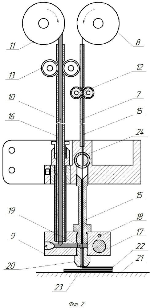 Способ производства изделий из композитных материалов методом 3д-печати и устройство для его реализации