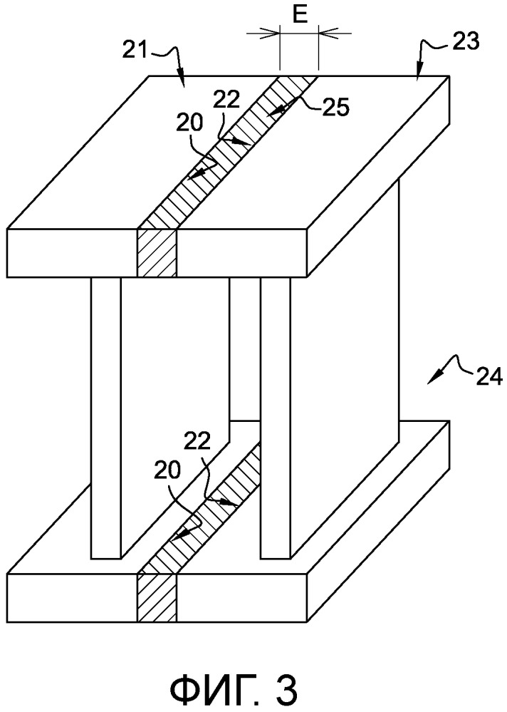 Способ соединения двух лопаток направляющего аппарата газотурбинного двигателя