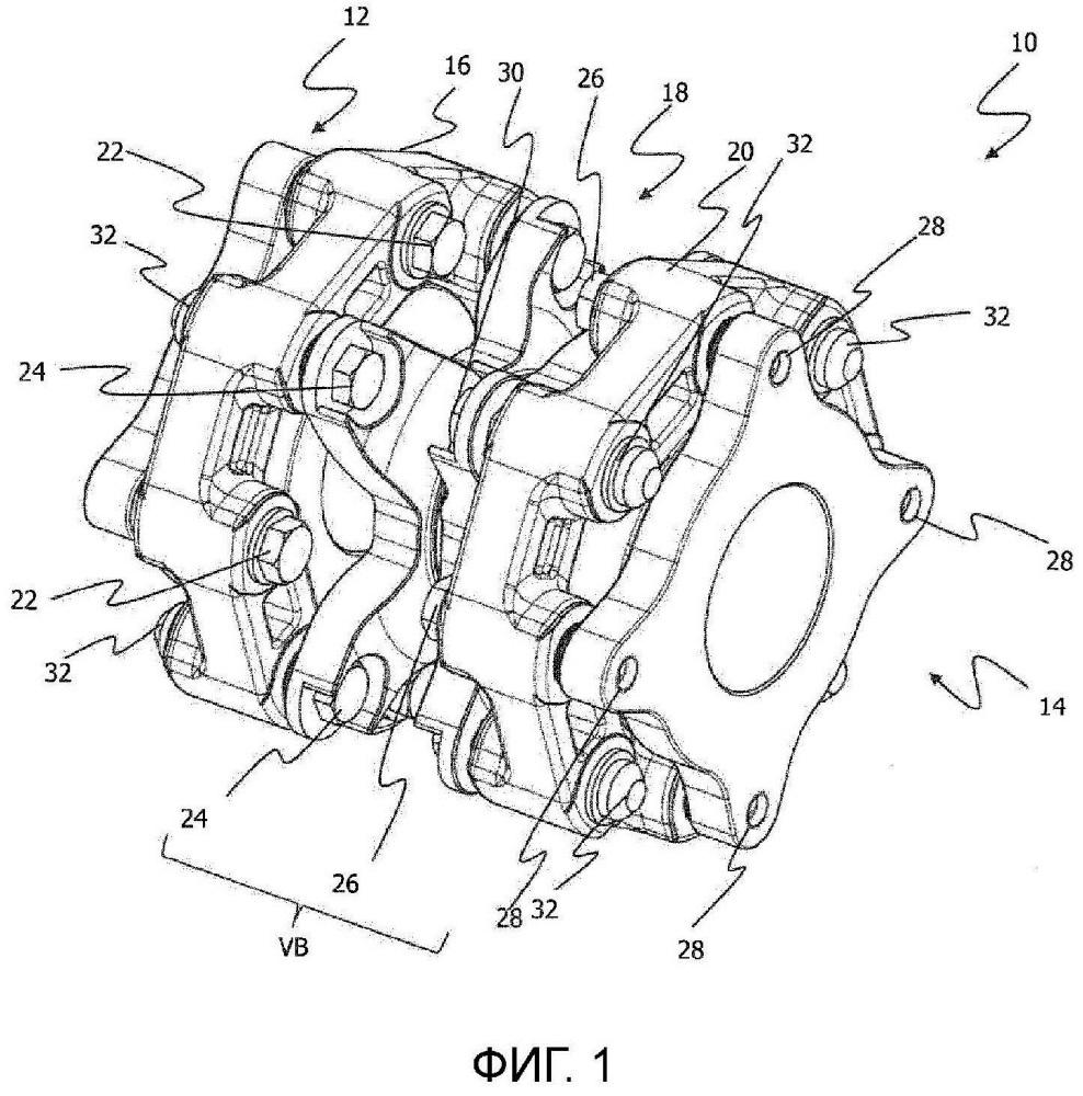 Устройство сцепления и упрочненное волокнами шарнирное устройство