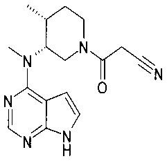 Оральные дозированные формы тофацитиниба с непрерывным высвобождением