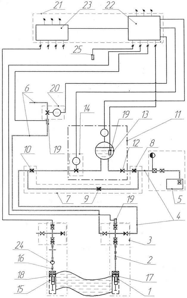 Комплект оборудования для виброволнового воздействия на углеводородсодержащий пласт