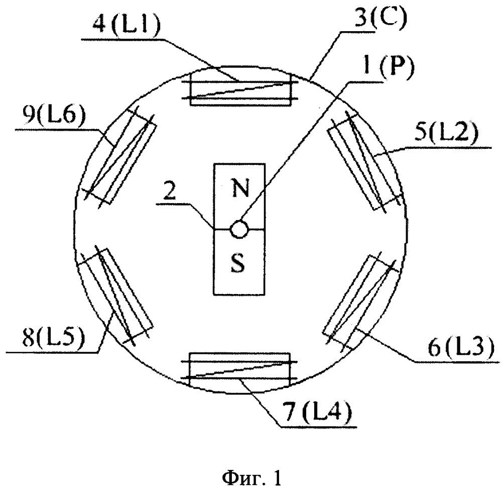 Источник постоянного тока, выполненный на синхронном шаговом двигателе, с повышенной выходной мощностью