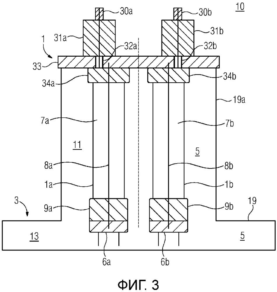 Rc делители напряжения, используемые в общей газовой камере выключателя с газовой изоляцией