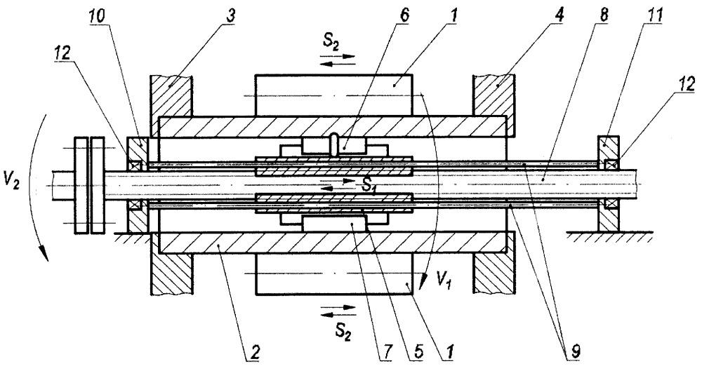 Устройство для деформационного упрочнения внутренней поверхности металлических трубных изделий