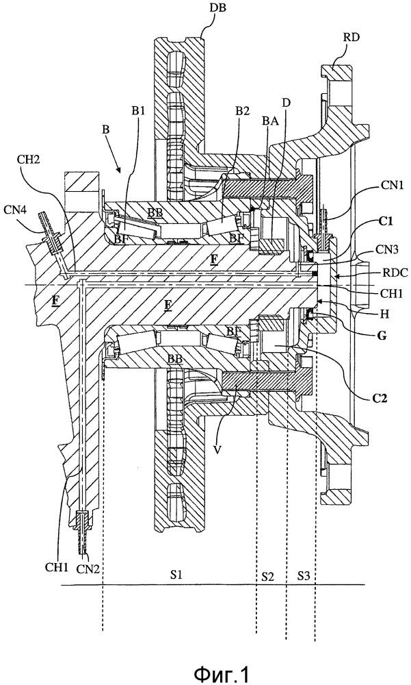 Колесная ступица, выполненная с возможностью регулирования давления в одной соответствующей шине