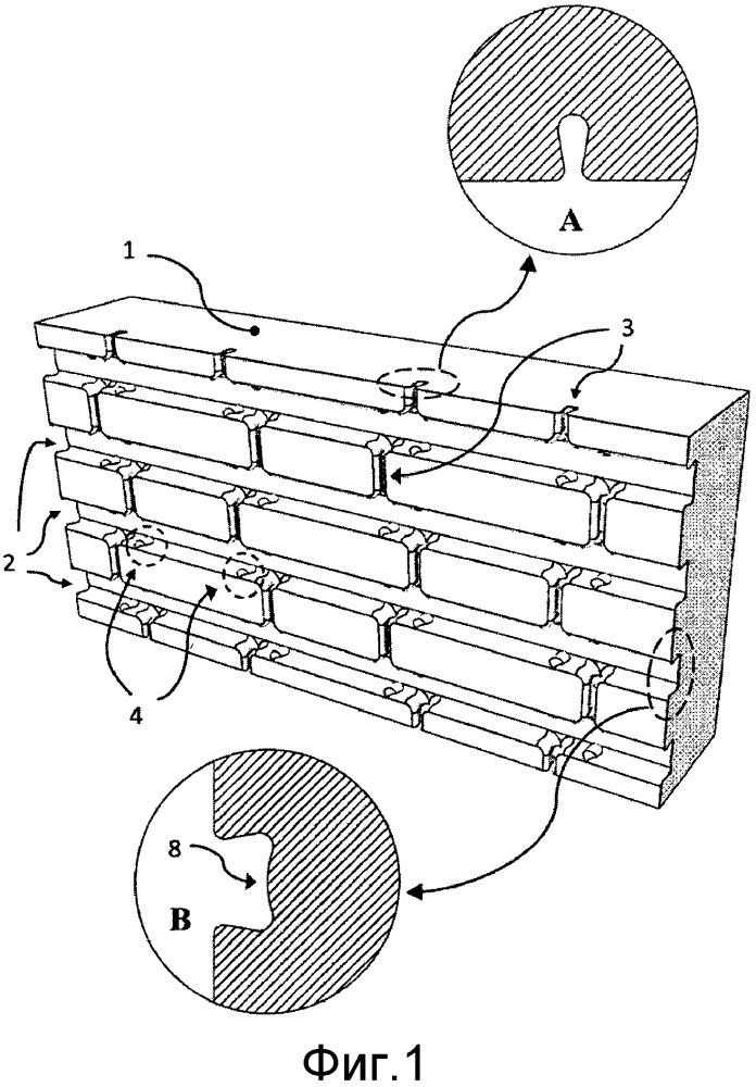 Панель для внешней тепловой изоляции фасада с помощью наружной керамической обшивки
