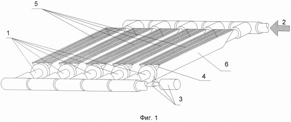 Тепловой коллектор с термостабилизационными оптическими элементами концентрации солнечной энергии