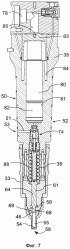 Топливный клапан и способ впрыска жидкого топлива в камеру сгорания большого двухтактного двигателя внутреннего сгорания с турбонаддувом с воспламенением от сжатия