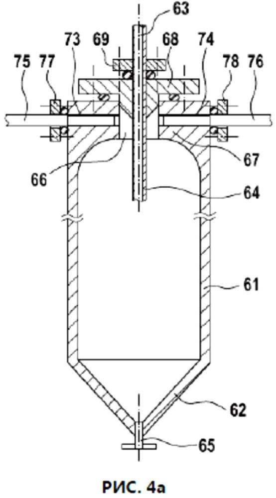 Сепаратор с встроенными разрывными мембранами для разделения компонентов реакционной смеси, полученной в результате полимеризации под высоким давлением этиленненасыщенных мономеров