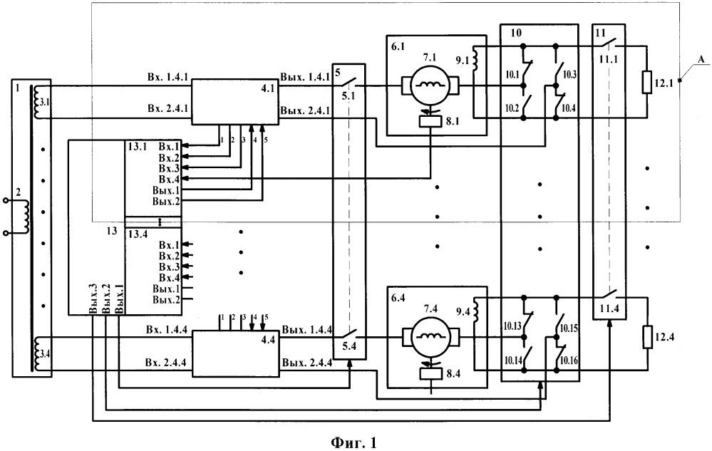 Электрическая передача электровоза