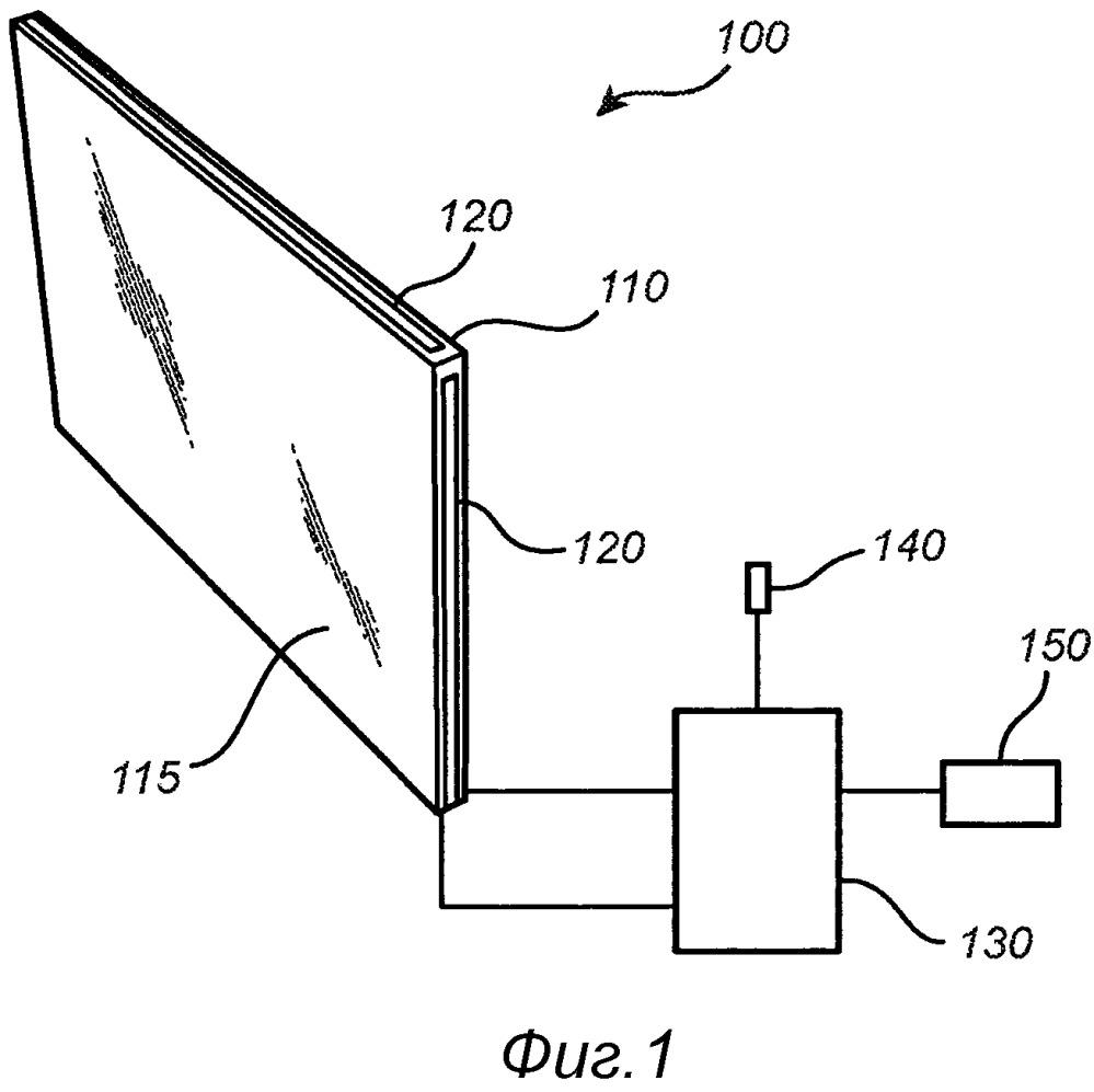 Управляющее устройство для управления цветом окна