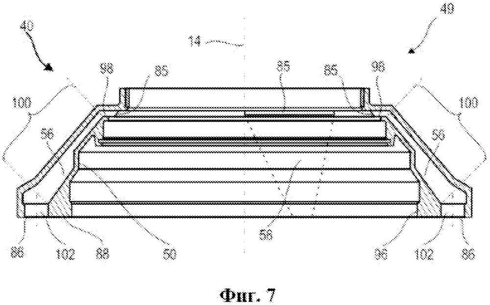 Кольцевая крышка для смазочной камеры турбомашины и турбомашина, содержащая такую крышку
