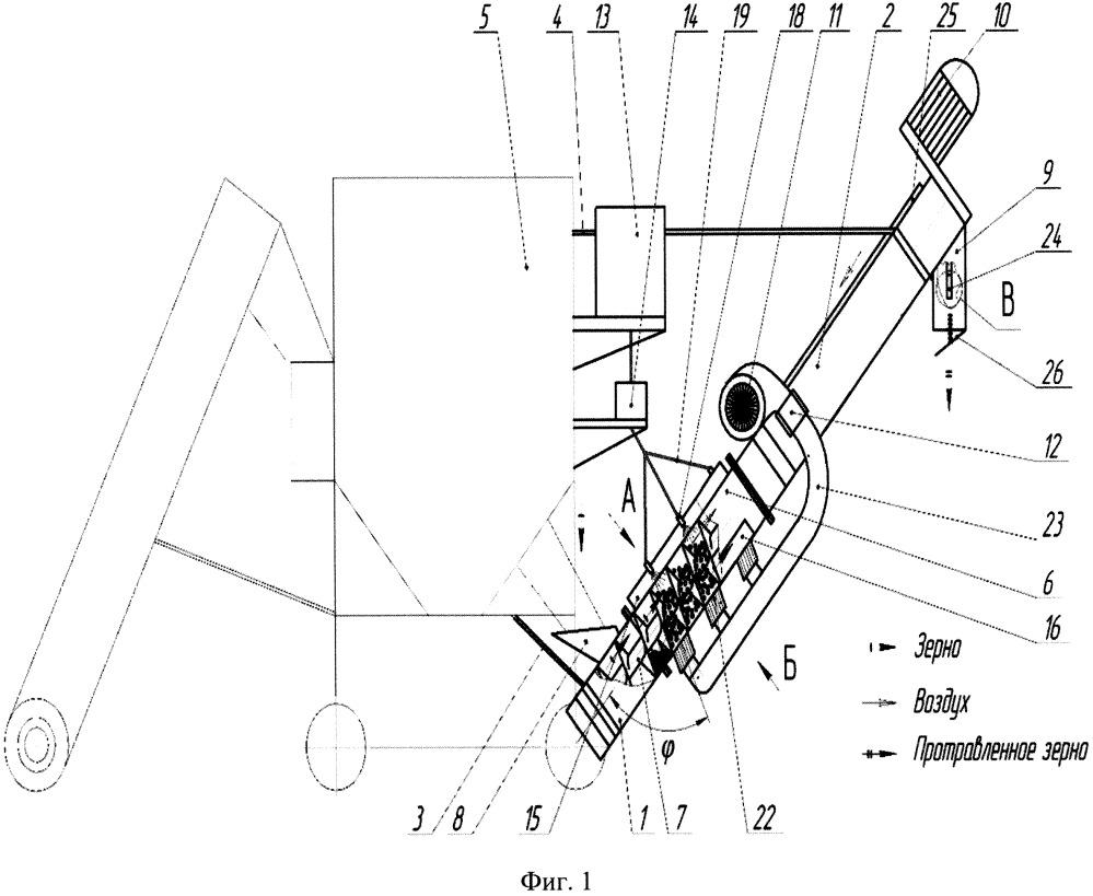 Модульный пневмомеханический протравливатель семян