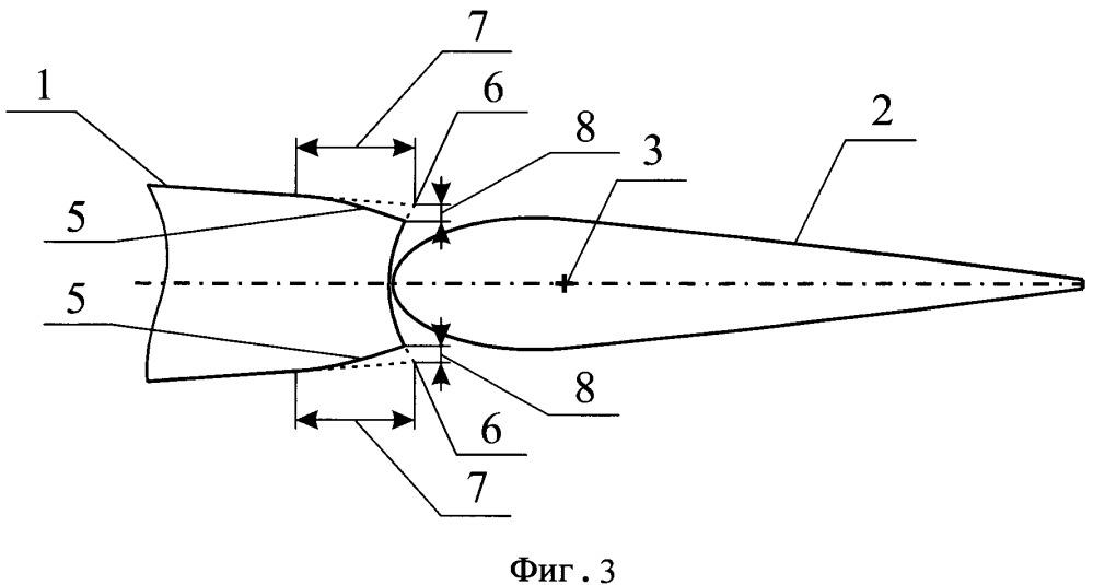 Аэродинамическая поверхность с рулем