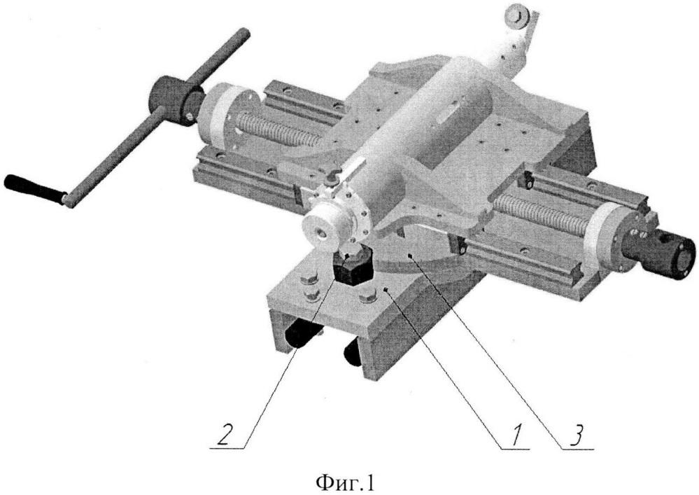 Мобильный станок для обточки колесных пар