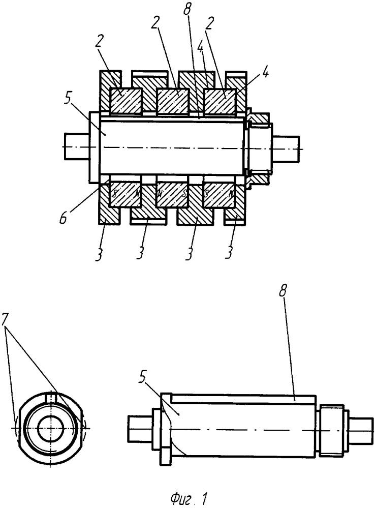 Способ изготовления ротора электрической машины