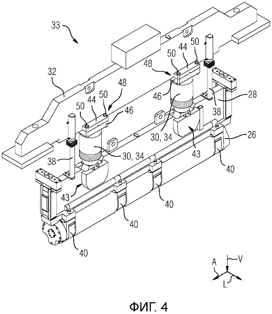 Блок ролика роликовой проводки для установки непрерывной разливки