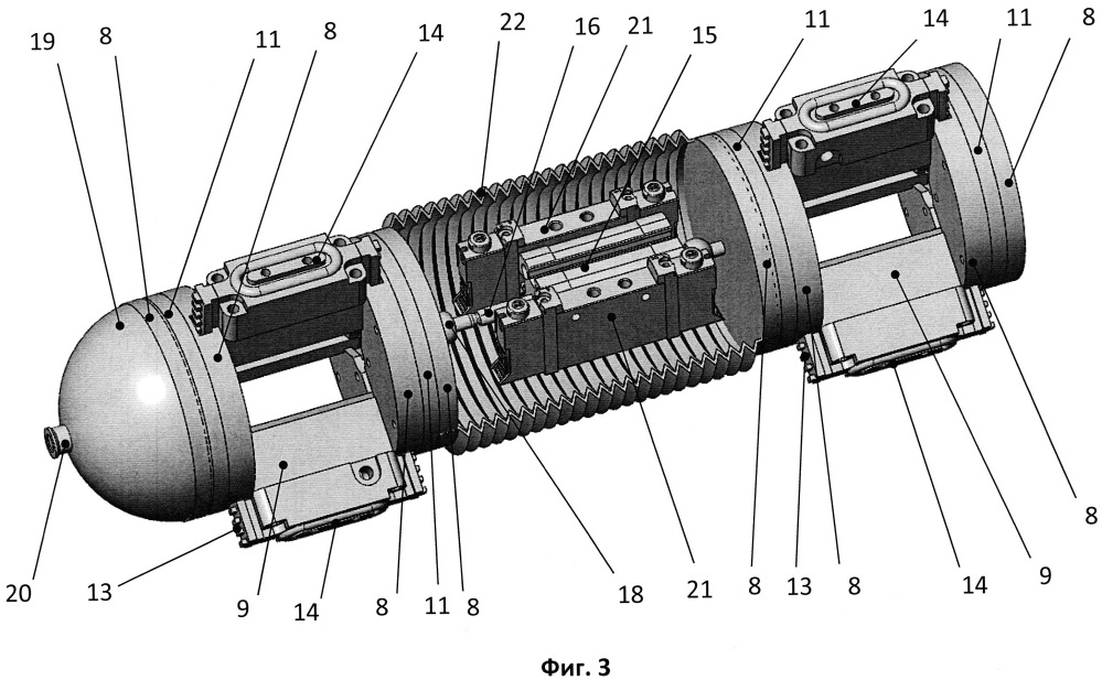 Телеуправляемый внутритрубный интроскоп