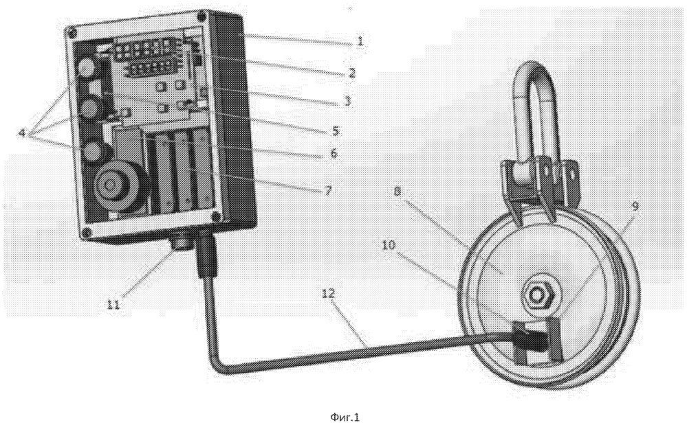 Устройство для измерения глубины погружения оборудования