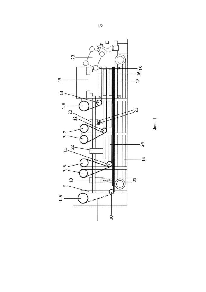 Способ и устройство для изготовления многослойной детали