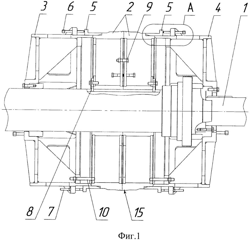 Оправка для изготовления намоткой тонкостенных цилиндрических оболочек из полимерных композиционных материалов