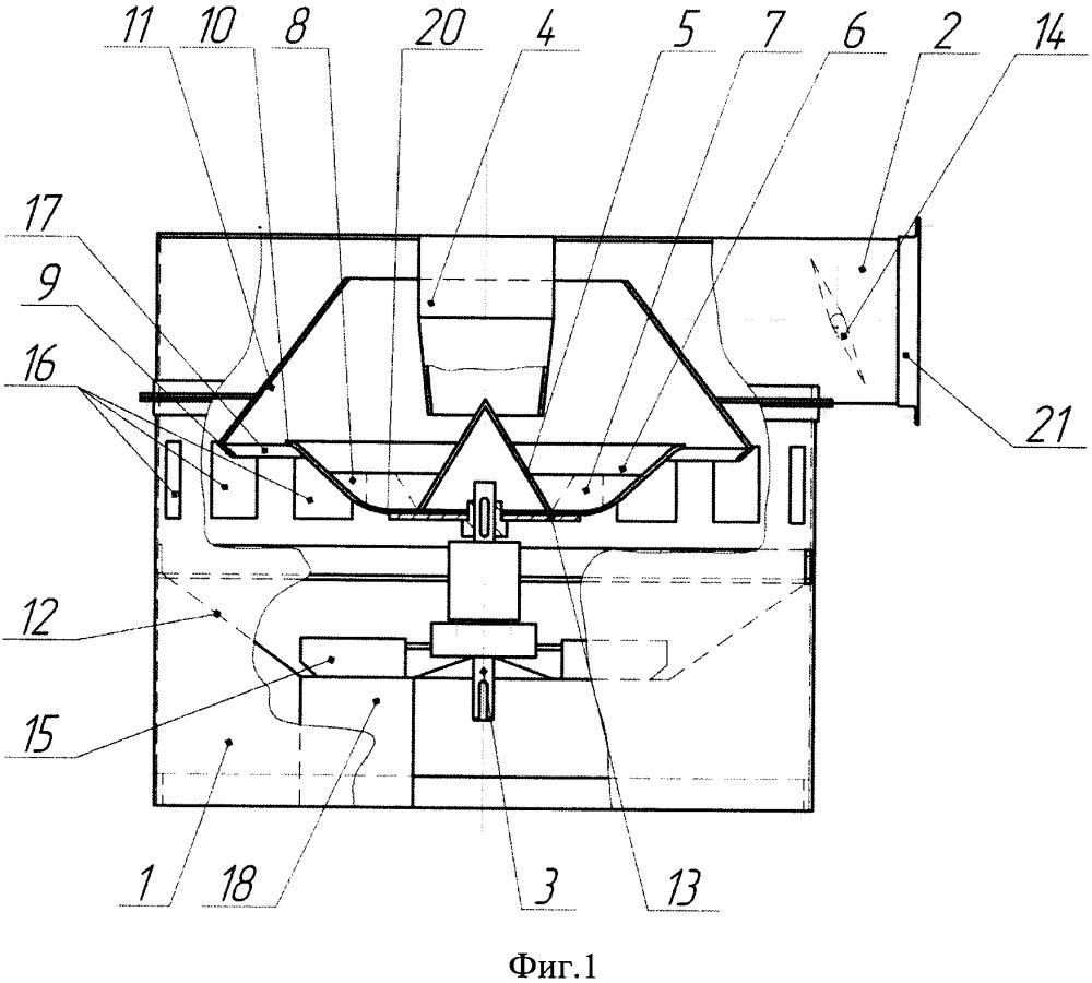 Центробежно-воздушный сепаратор