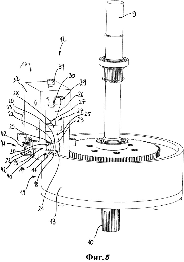 Переключающее устройство для арматуры и система регулирования арматуры