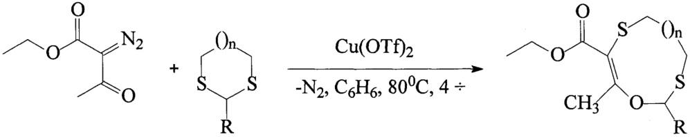 Способ получения полифункциональных o- и s-содержащих макрогетероциклов