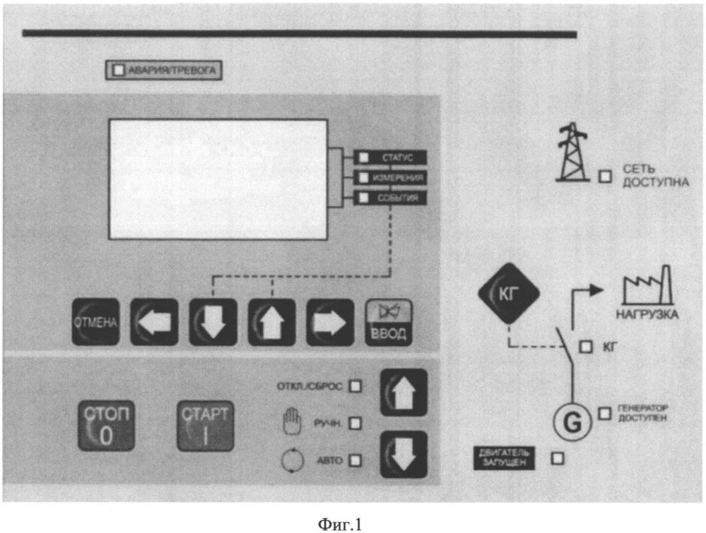 Электронная панель управления дизель-генераторным агрегатом (эпу дга)
