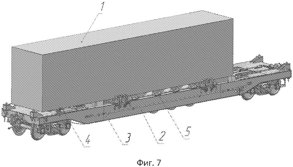 Способ погрузки автомобильного полуприцепа на вагон-платформу