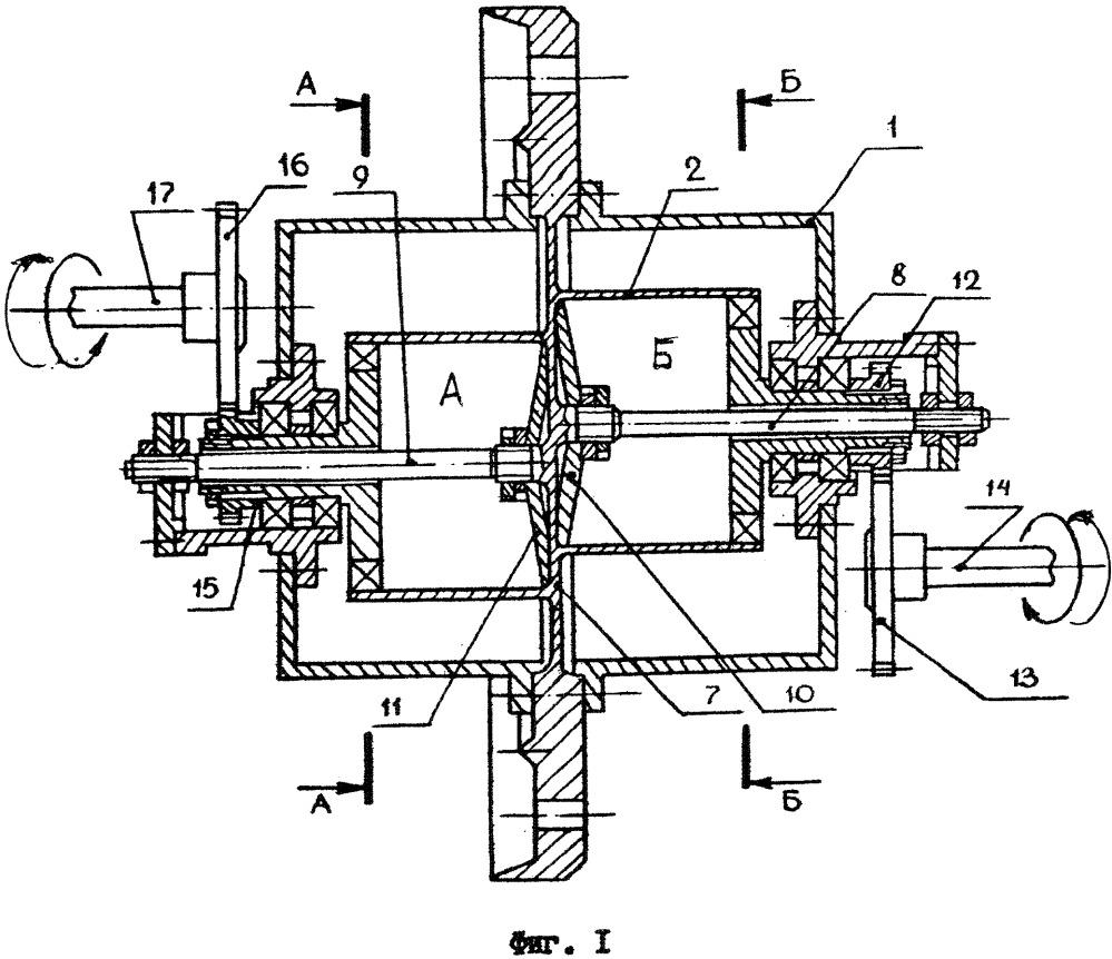 Волновая герметичная передача-муфта