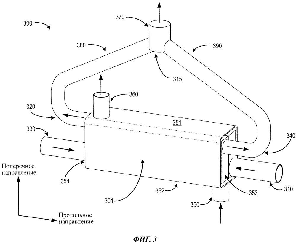 Охладитель системы рециркуляции отработавших газов, способ работы двигателя и система рециркуляции отработавших газов
