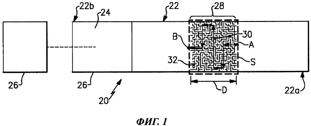 Теплоизолирующее устройство, оснащенное извилистым теплопроводящим каналом со сплошными стенками