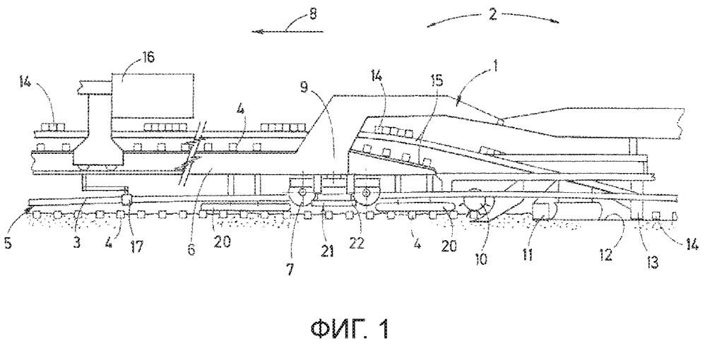 Способ и путеукладочная машина для обновления шпал рельсового пути, образованного из рельсов и шпал
