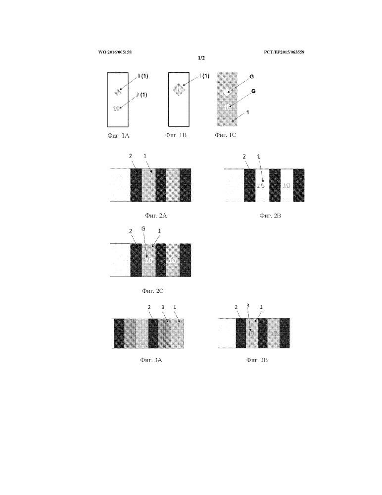 Оптически изменяющиеся магнитные защитные нити и полоски