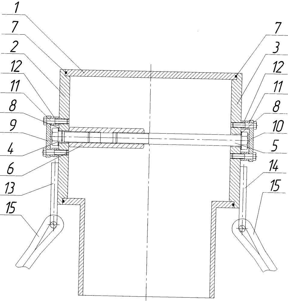 Устройство для очистки трубопроводов путем продувки