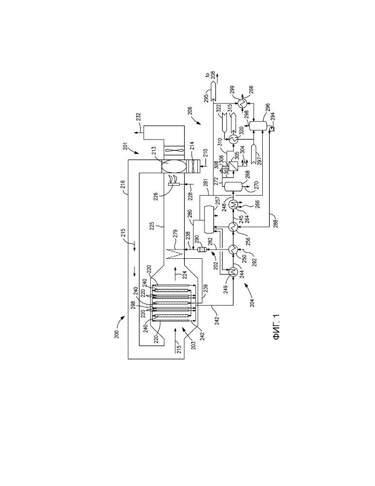 Способ и система для производства жидкого углеводородного продукта с помощью процесса фишера-тропша с использованием синтез-газа, произведенного в реакторе риформинга на основе мембраны транспорта кислорода