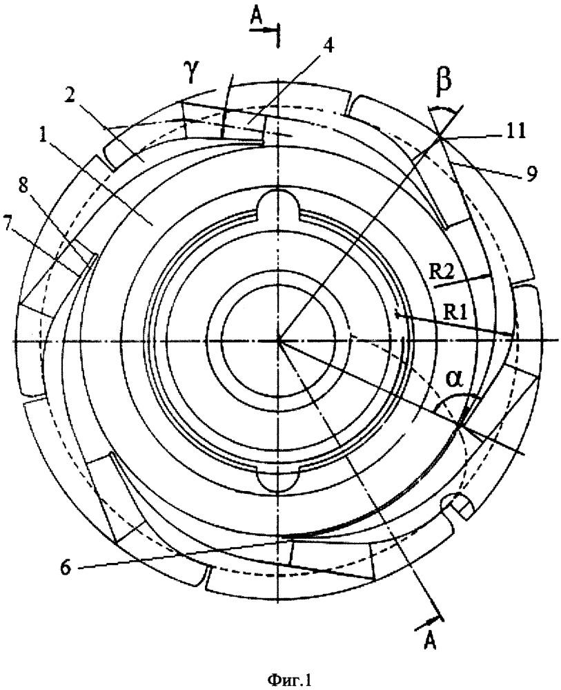 Направляющий аппарат центробежного многоступенчатого насоса