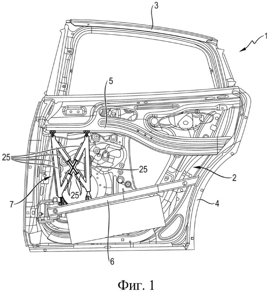 Навесная часть кузова транспортного средства