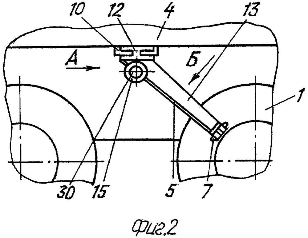 Способ отрыва бортов шины от обода колеса транспортного средства и устройство для его осуществления