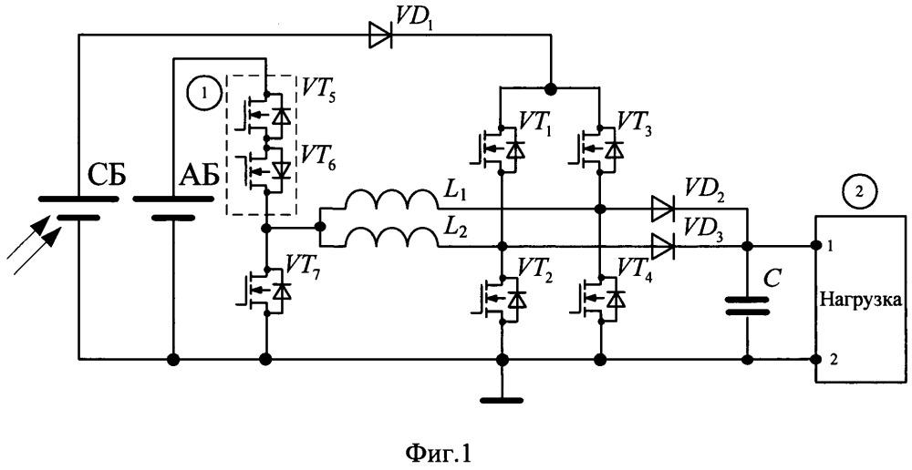 Энергопреобразующая аппаратура для систем электропитания постоянного тока
